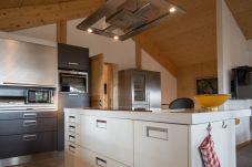 Chalet Essbereich Küche Kücheninsel Turrach