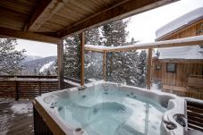 Außenjacuzzi Chalet Winter Turrach