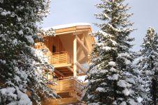 Chalet Außenansicht Winter Turrach