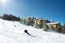 Piste Skifahren Familie Spaß