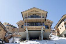 Winter Skifahren Chalets Modern