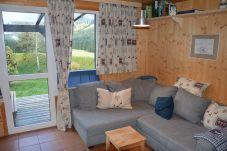 Ferienhaus Steiermark Hohentauern Wohnzimmer Bergblick