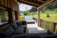 Ferienhaus Terrasse Gartenmöbel Gemütlichkeit