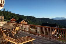 Ausblick Berge Chalet Klippitzrose