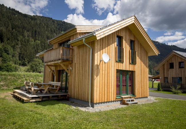 Ferienhaus Murau Terrasse Sommer