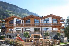 Appartementhaus Aussicht Berge Himmel Schönes Wetter