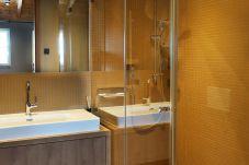 Dusche Fliesen Modern Glastüre Individuell