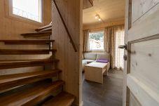 Chalet modern Treppe Wohnzimmer