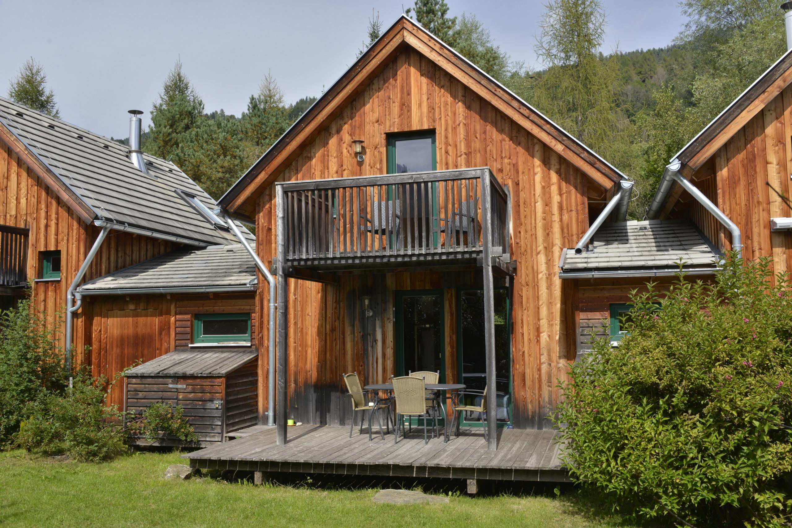 Ferienhaus Familie Terrasse Sommerurlaub